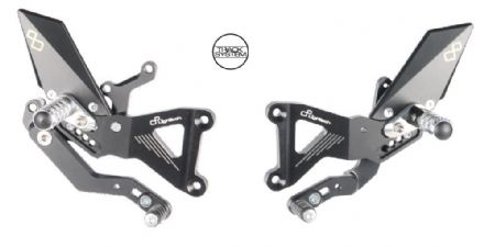 LighTech Triumph Street Triple 675 / 675R 2013-2016 Adjustable Rearsets